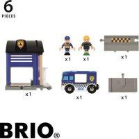 Brio Policajná stanica so svetlom a zvukom 3