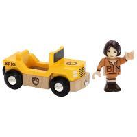 Brio Safari auto s panáčikom