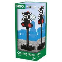 Brio Světelný železniční semafor 2