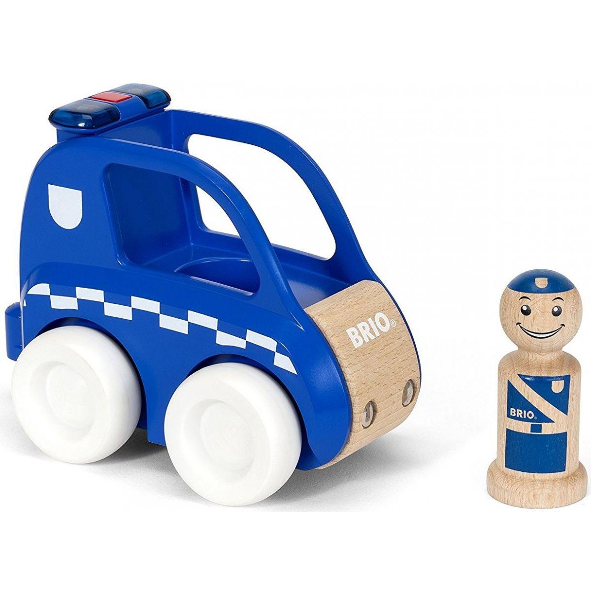 Brio Svietiace a zvukové policajné auto