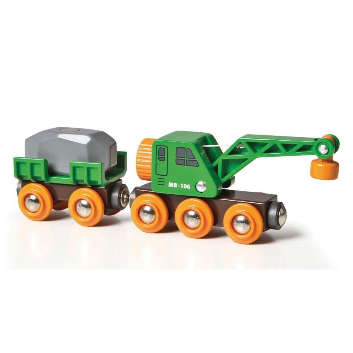 Brio Vagón a žeriav 33698