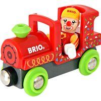 Brio Veselý vláčik zo zábavného parku s klaunom 2