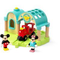 Brio World 32270 Nádraží Myšiaka Mickeyho s nahrávaním zvuku