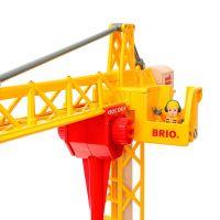 Brio World 33835 Svietiace stavebný žeriav 2