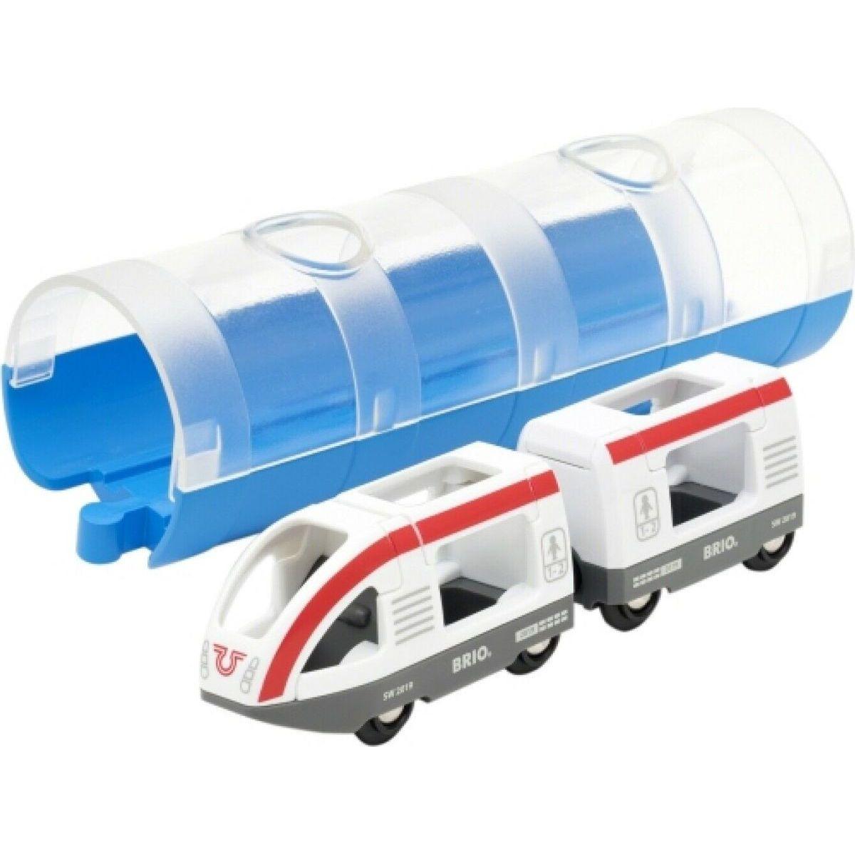 Brio World 33890 Tunel a osobný vlak