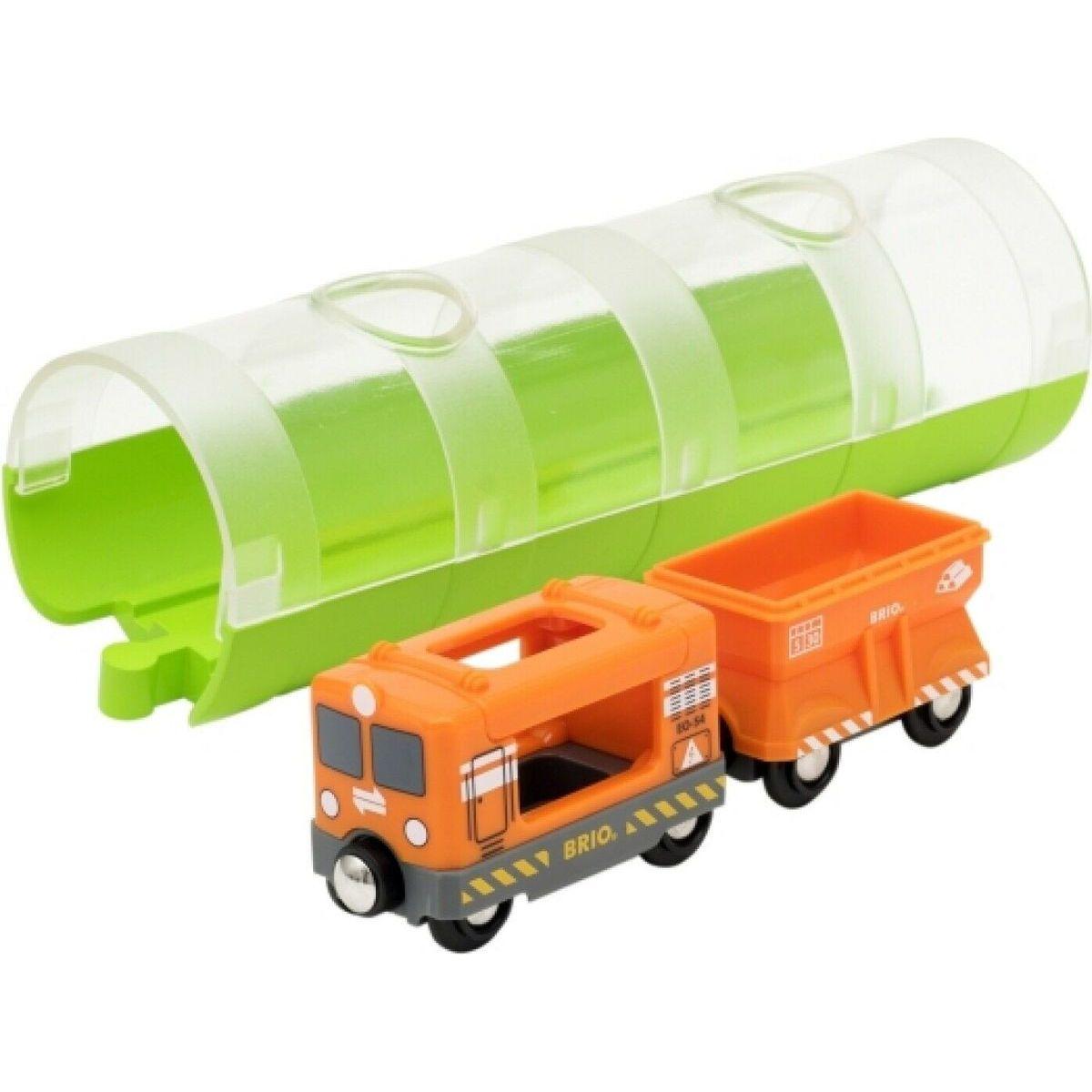 Brio World Tunel a nákladný vlak