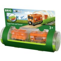 Brio World Tunel a nákladný vlak 5