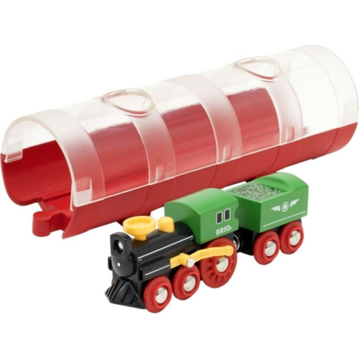 Brio World Tunel a parný vlak