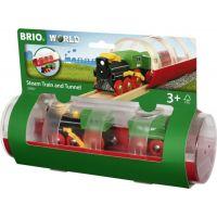 Brio World Tunel a parný vlak 5