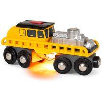 Brio World 33897 Vůz pro opravu kolejí