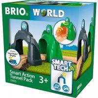 Brio World Smart Tech Akčné tunely zrýchlenie a spomalenie 4