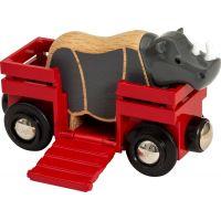 Brio World 33968 Nosorožec a vagónik