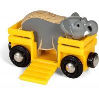 Brio World 33969 Slon a vagónek