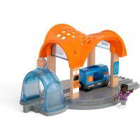 Brio World 33973 Smart Tech Sound Vlaková stanica s tunelom
