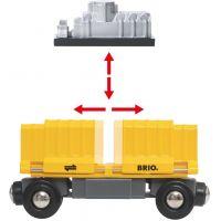 Brio World Nákladný vlak s troma vozňami 2