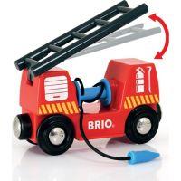 BRIO 33815 Vláčkodráha s týmem hasičů 2