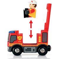 BRIO 33815 Vláčkodráha s týmem hasičů 3