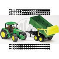 Bruder 01134 Traktor John Deere 6920 s prívesom a prednou lyžicou 2