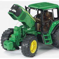 Bruder 01134 Traktor John Deere 6920 s prívesom a prednou lyžicou 4