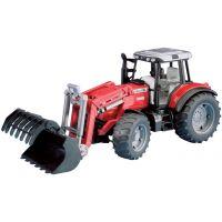 Bruder Traktor MASSEY FERGUSON s čelním nakladačem 2042
