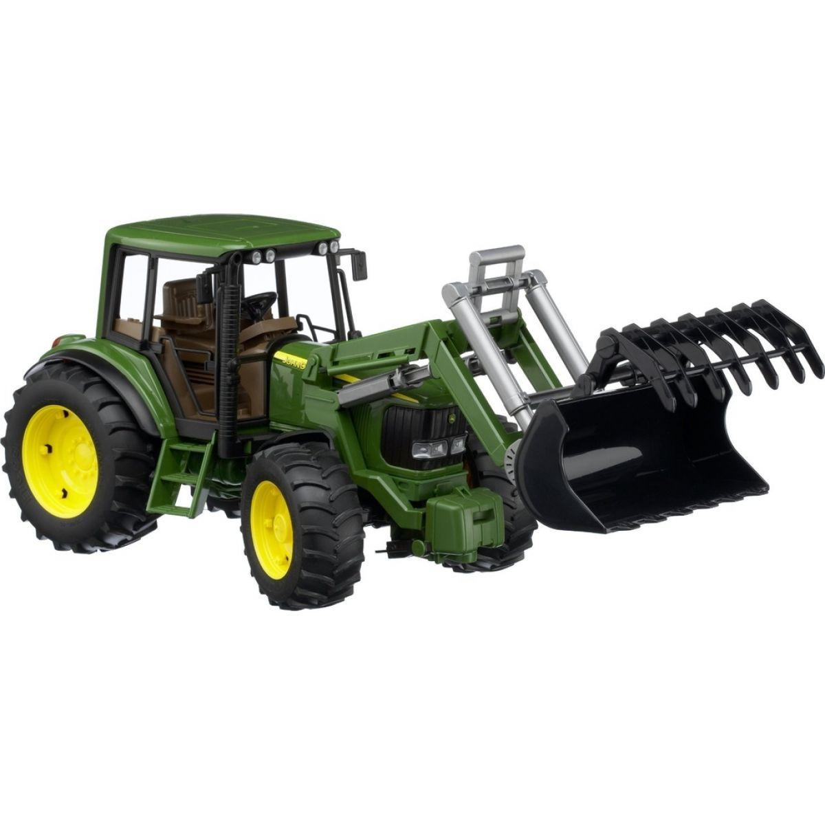 Bruder traktor john deere s radlicou