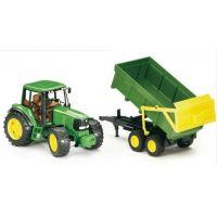 John Deere Traktor 6920 + vlečka