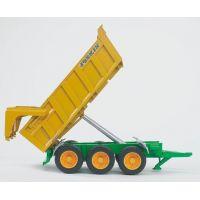 BRUDER 02212 - Přívěs Joskin k traktorům 2