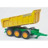 BRUDER 02212 - Přívěs Joskin k traktorům 3