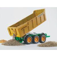 BRUDER 02212 - Přívěs Joskin k traktorům 4