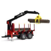 Bruder 02252 Prepravník na drevo s rukou