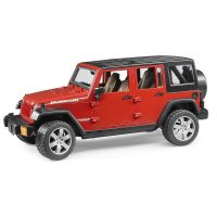 Bruder 2525 Jeep Wrangler Unlimited Rubicon Červená
