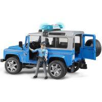 Bruder 02597 Policejný Land Rover Defender s policajtom 3