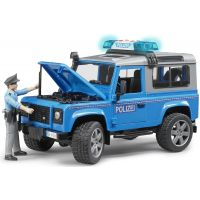 Bruder 02597 Policejný Land Rover Defender s policajtom 4
