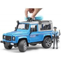 Bruder 02597 Policejný Land Rover Defender s policajtom 5