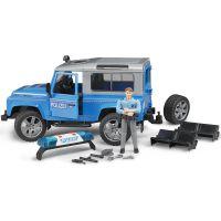 Bruder 02597 Policejný Land Rover Defender s policajtom 6