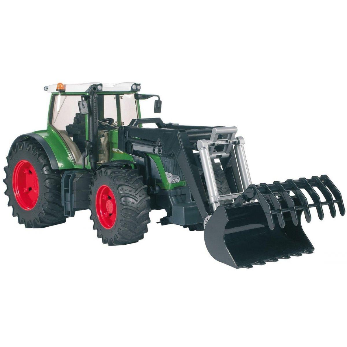 Bruder Traktor Fendt 936 Vario s nakladačom