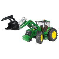 Bruder 3051 Traktor John Deere + čelný nakladač