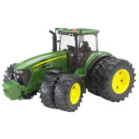 Bruder Traktor John Deere dvojité kolesá