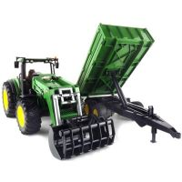 Bruder 03055 Traktor John Deere 7930 + vůz - Poškozený obal 2