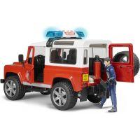 Bruder 2596 Land Rover Defender Hasičské auto s figúrkou hasičov 4