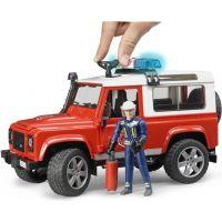 Bruder 2596 Land Rover Defender Hasičské auto s figúrkou hasičov 5