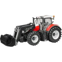 Bruder 3181 Traktor Steyr 6300 Terrus CVT s lžicí
