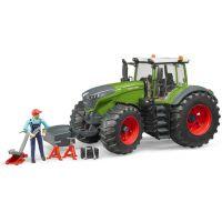 Bruder 4041 Traktor Fendt 1050 Vario s mechanikom a príslušenstvom