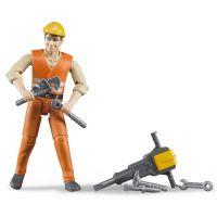Bruder 60020 stavební dělník 2