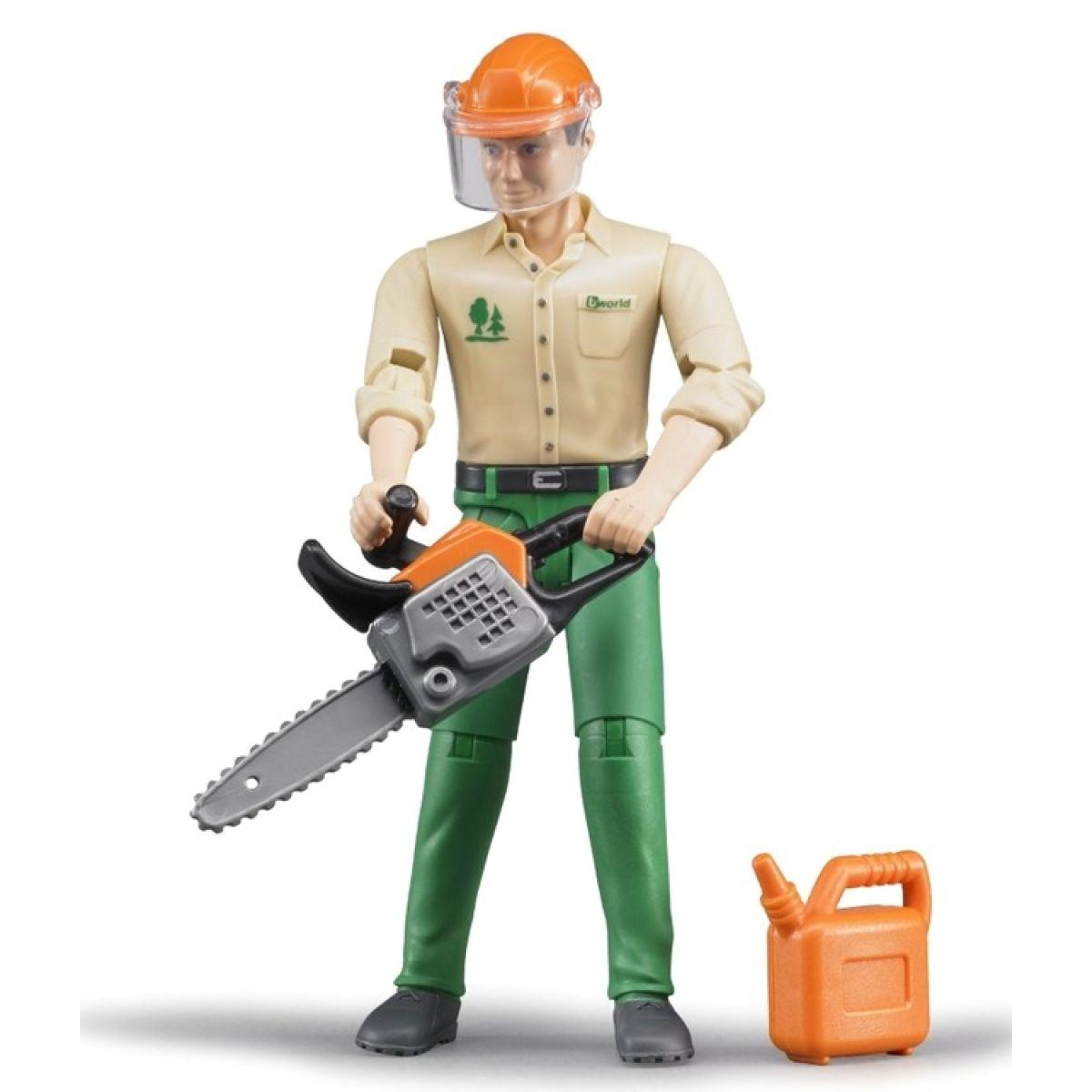 Bruder 60030 lesní dělník