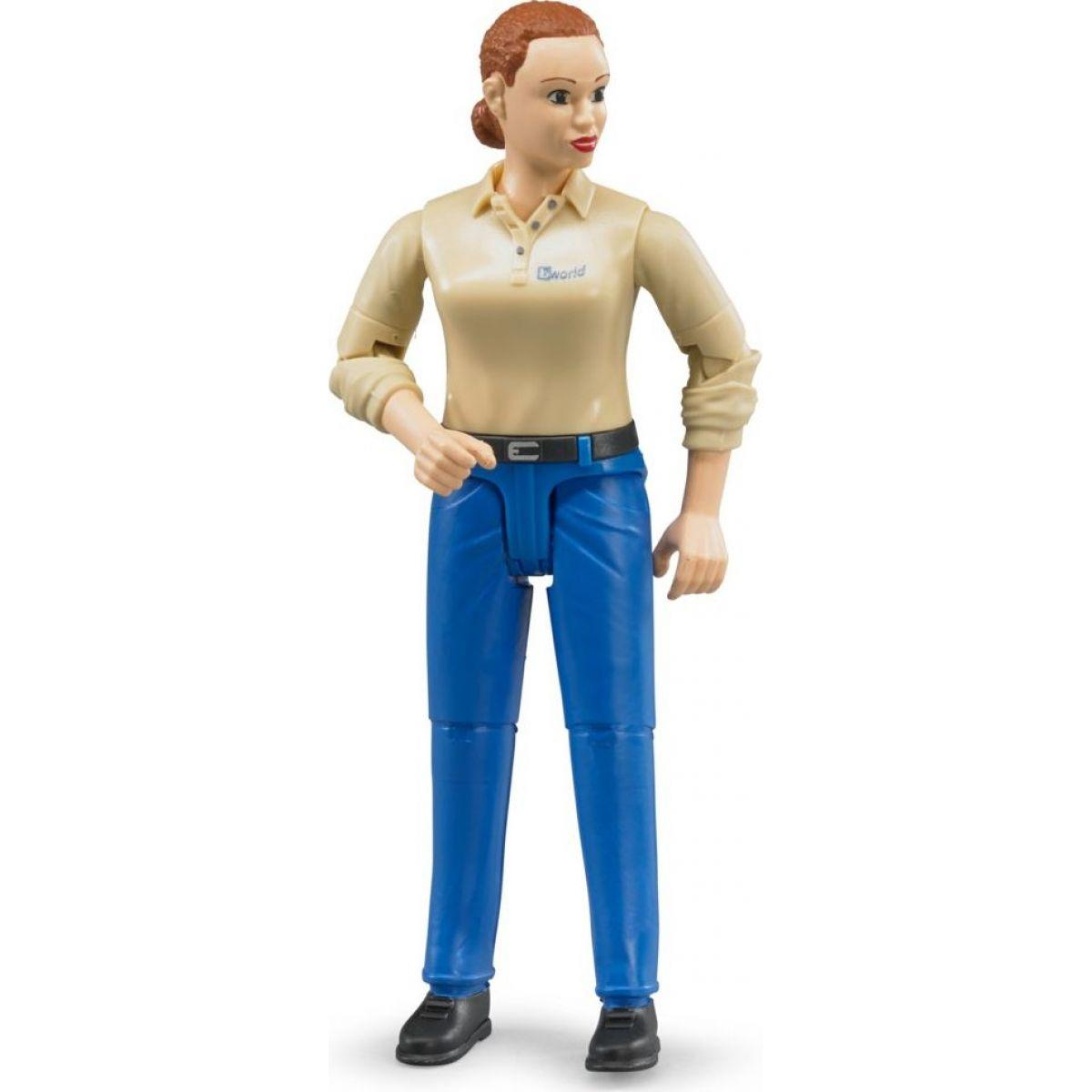 Bruder 60408 Bworld Žena modré nohavice