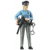 Bruder 60430 Bworld policajtka s príslušenstvom