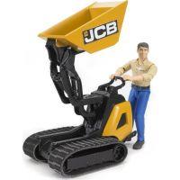 BRUDER 62004 Přepravník JCB s figurkou muže