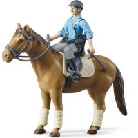 Bruder 62507 kôň s policajtom