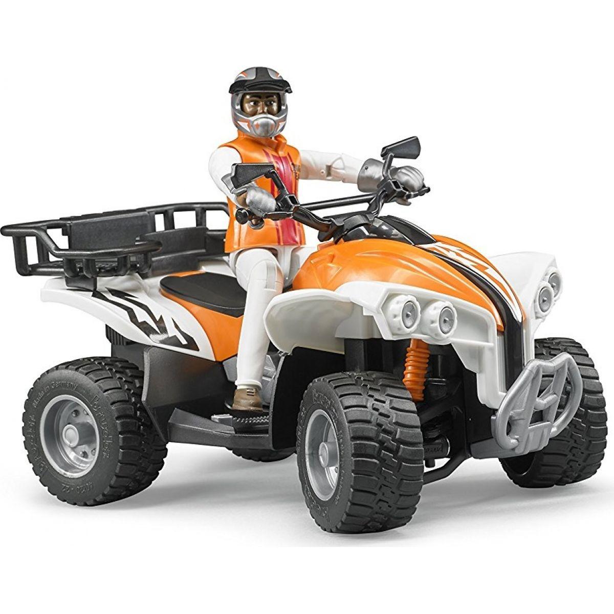 Bruder 63000 Čtyřkolka s řidičem